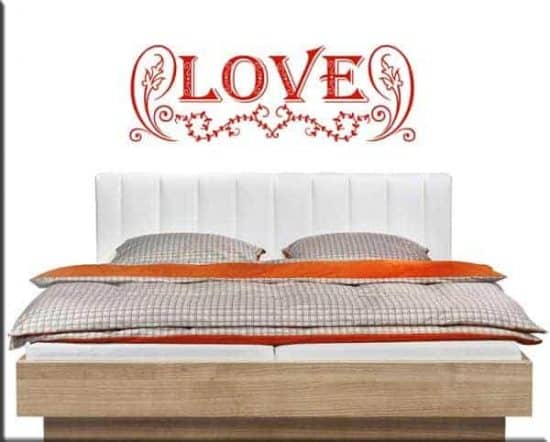 wall sticker love letto