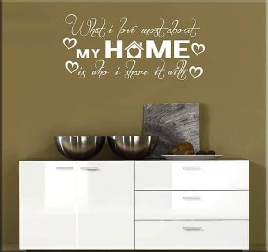 wall stickers frasi home