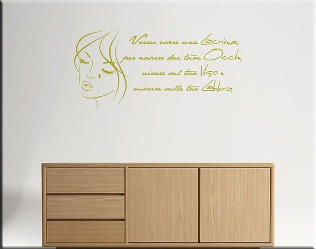 wall stickers frasi love
