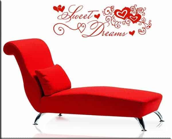 wall stickers sweet dreams love