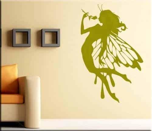 Adesivo murale fata fantasy design