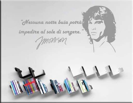 adesivi da parete frasi Jim Morrison