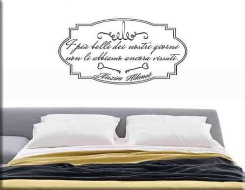adesivi da parete poesia Nazim Hikmet