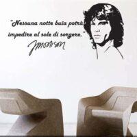 Adesivi Murali Frase Jim Morrison