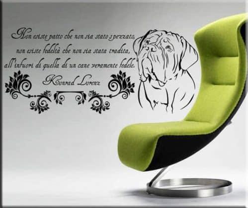 adesivi murali frase Konrad Lorenz