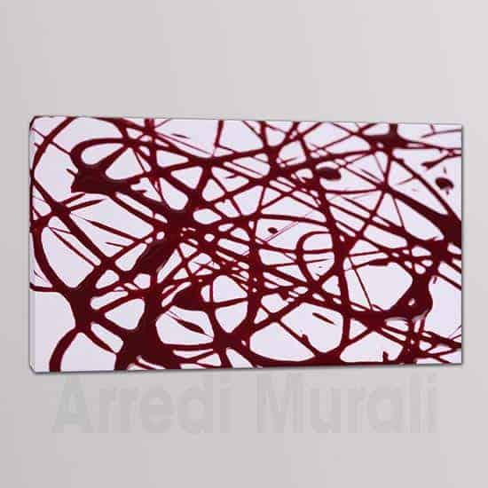 arte astratta 1 quadro moderno su tela