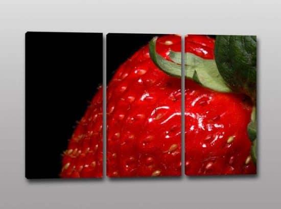 quadri moderni stampa fragola frutta