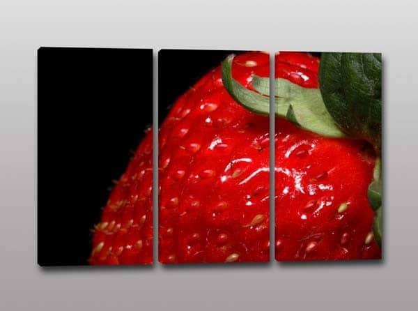 Tris di quadri moderni con stampa su tela dell'immagine di una ...