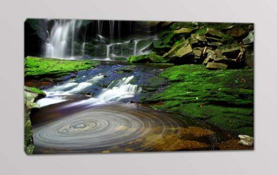 quadro moderno natura acqua cascate