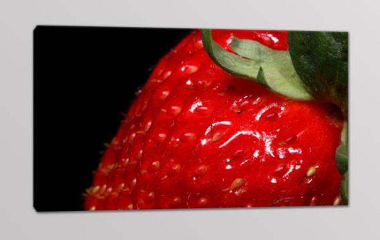 quadro moderno stampa tela frutta fragola