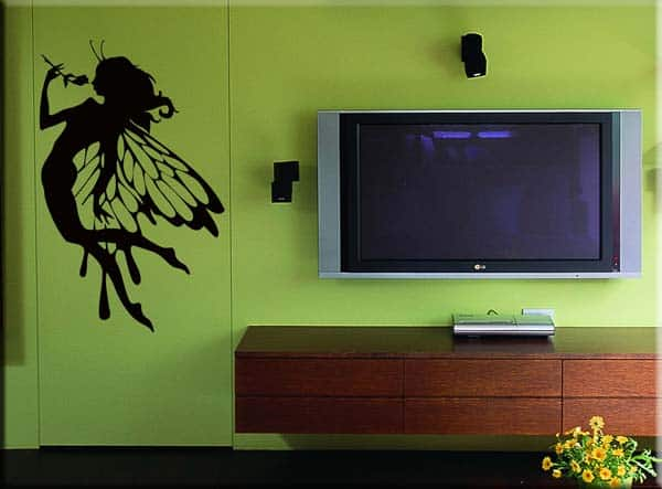 wall sticker adesivi murali fata fantasy