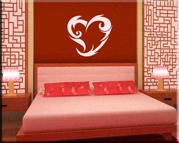 wall stickers cuore tattoo heart