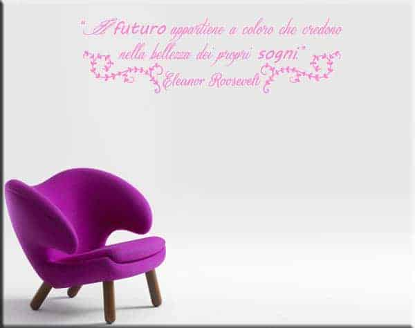 wall stickers frase Roosevelt