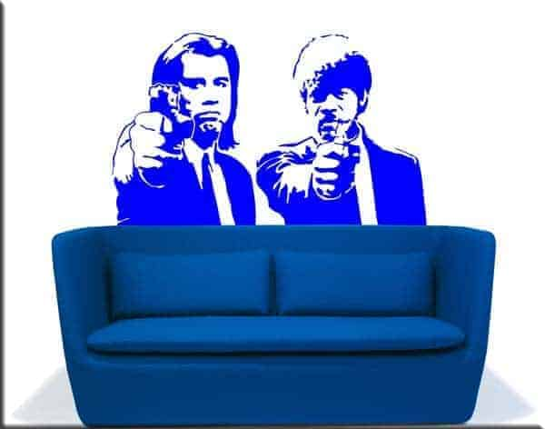 Adesivi murali Pulp Fiction cinema
