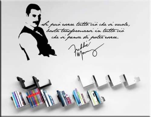 Decorazioni adesive frase Freddie Mercury