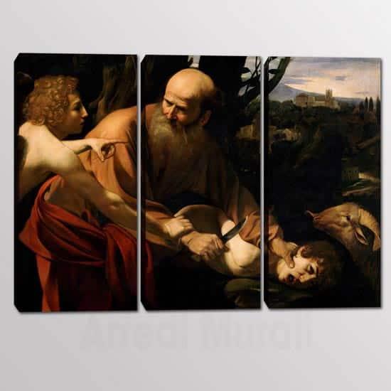 Quadri moderni riproduzione sacrificio di Isacco