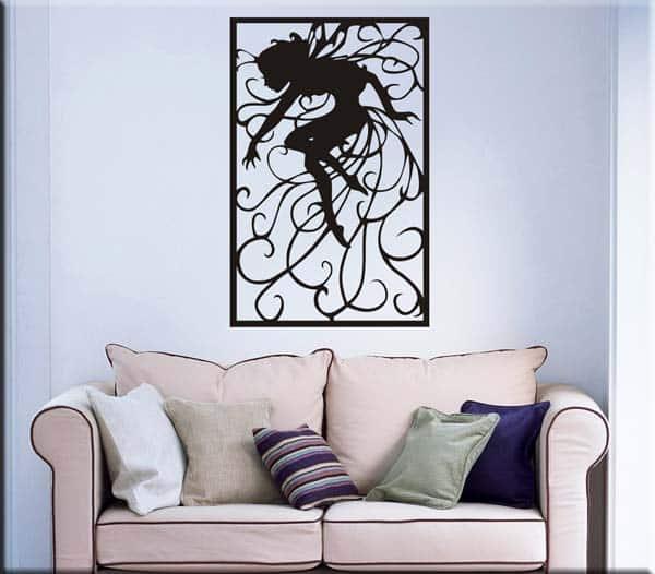 Wall sticker decorazione arte fantasy