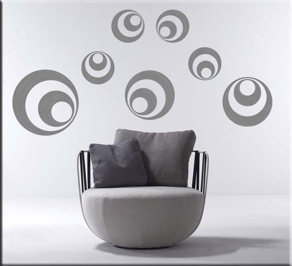 Wall stickers decorazioni adesive moderne
