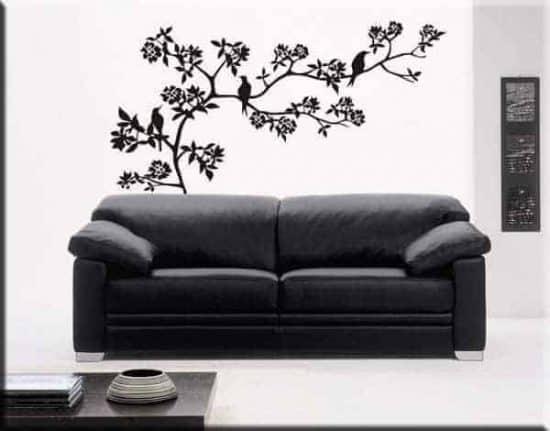 Wall stickers ramo fiori albero