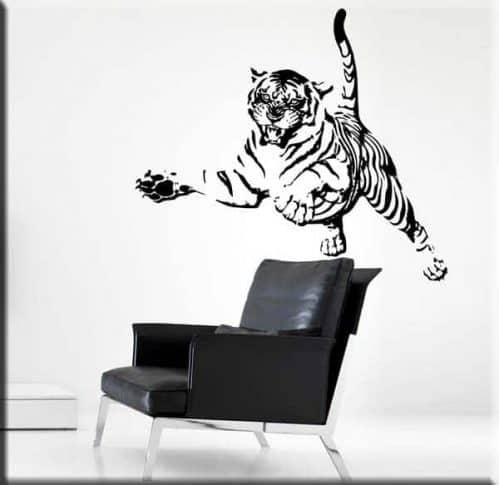 Wall stickers tiger tigre arredo