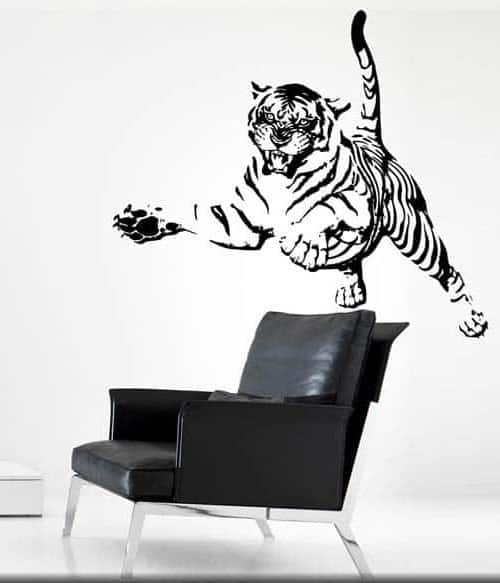 Wall stickers tiger tigre arredo