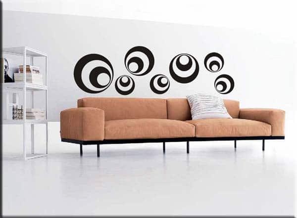 Adesivi da muro decorazioni adesive moderne - Decorazioni muro adesive ...