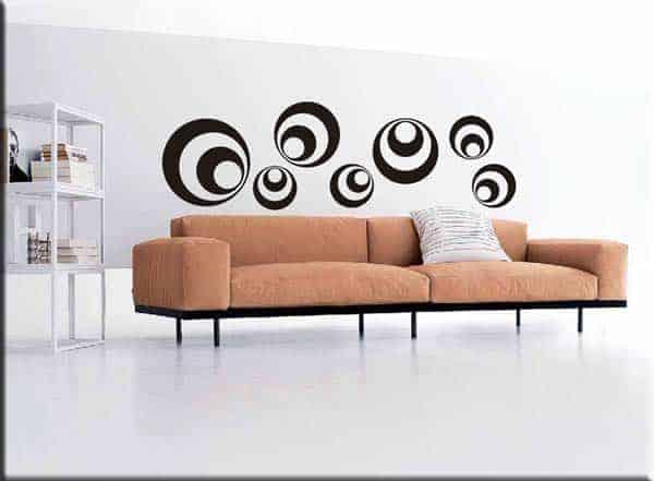 adesivi da muro decorazioni adesive moderne