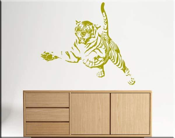 adesivi da parete tiger tigre design