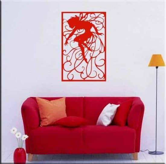 adesivo da parete decorazione arte fantasy