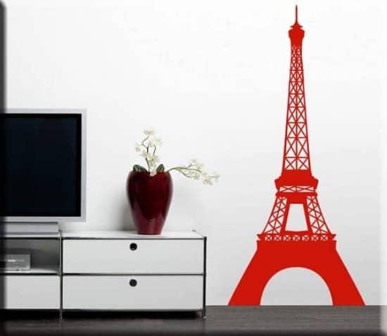 adesivo murale torre Eiffel