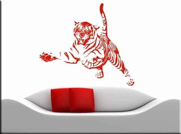 decorazioni murali tiger tigre