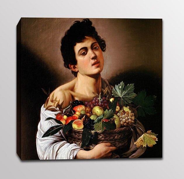 quadro moderno Caravaggio stampa tela