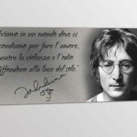 Frasi Sulla Vita John Lennon.Quadro Moderno Frase John Lennon Arredi Murali