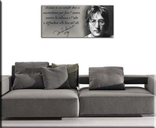 quadro stampa tela frase John Lennon