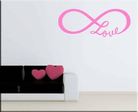 wall sticker love infinito
