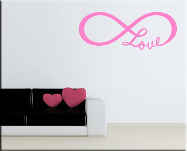 wall sticker love infinito