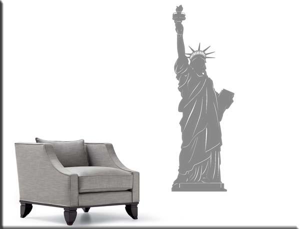 wall sticker statua libertà