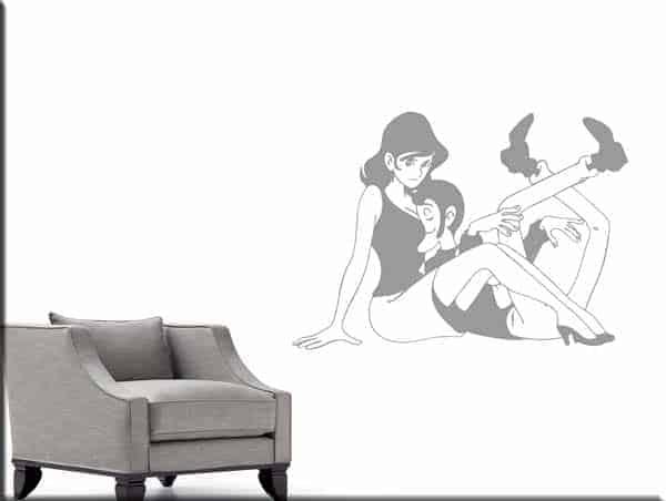 wall stickers Fujiko Lupin