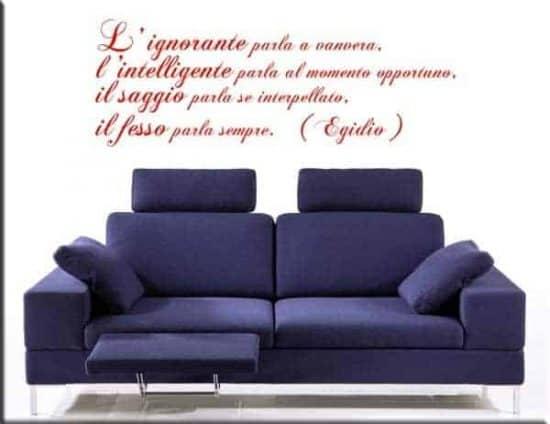 wall stickers citazione Egidio