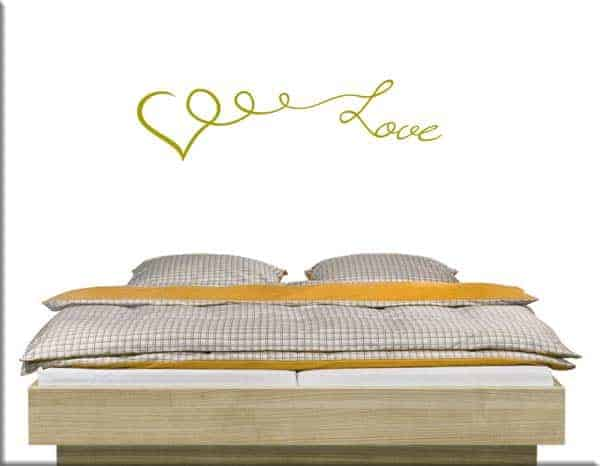 wall stickers cuore love