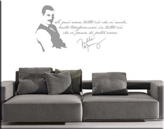 wall stickers frase Freddie Mercury