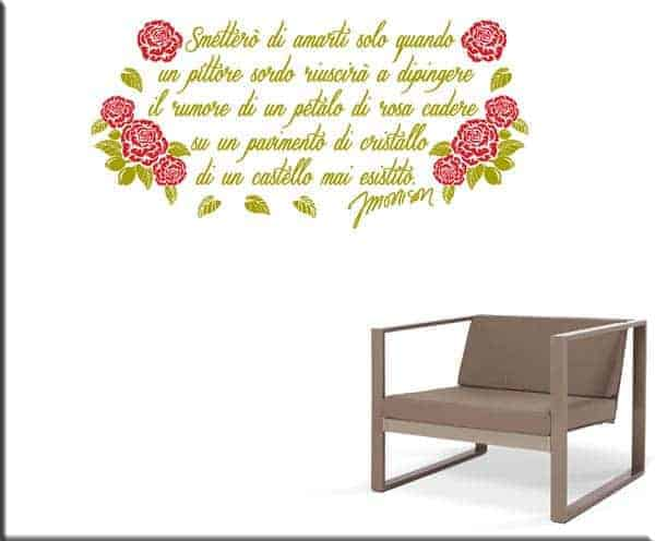 wall stickers frase Jim Morrison