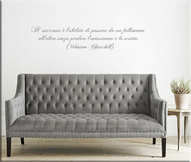 wall stickers frase Winston Churchill