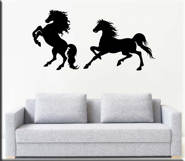 Wall stickers decorazioni murali cavalli