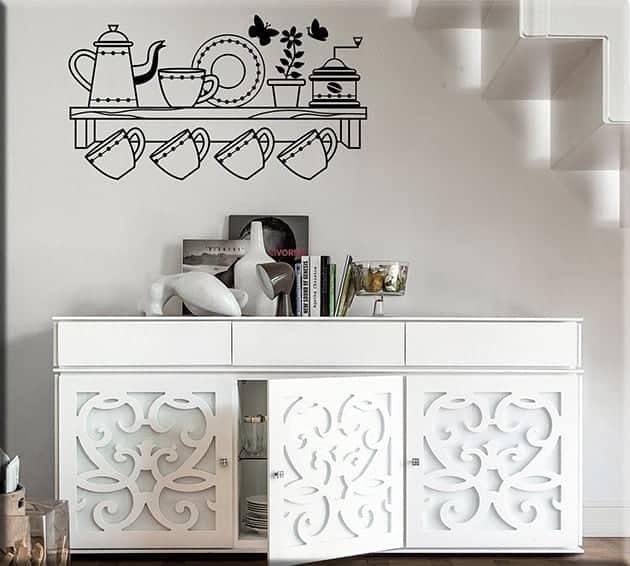 Quadro moderno adesivi murali dolci for Mobilia store recensioni