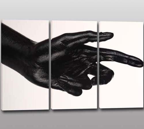 quadri moderni stampa digitale mano