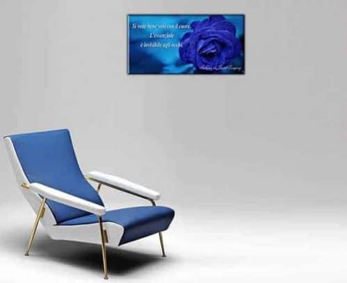 quadro moderno rosa blu