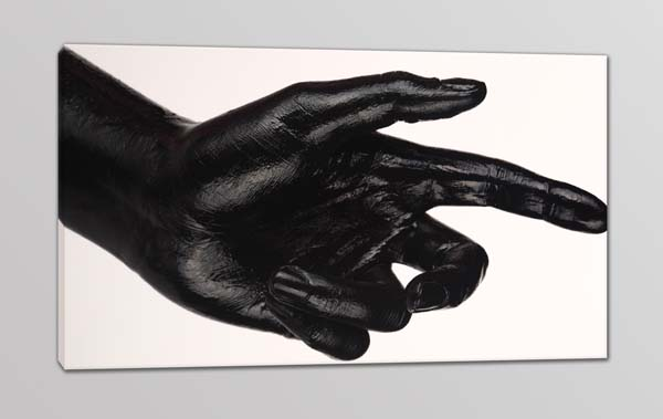 quadro moderno stampa digitale mano