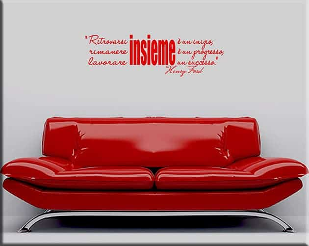 wall stickers citazione Henry Ford
