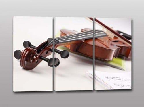 Tris quadri moderni violino musica